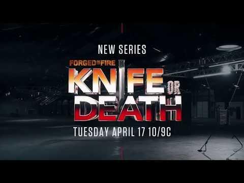 Video trailer för Knife or Death - featuring Pro Knife Thrower Jason Johnson - Premieres April 17 2018