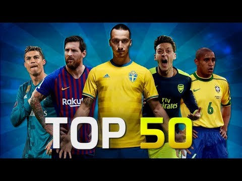 Top 50 Rare Goals in Football (HD)