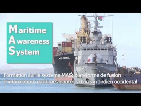Formation sur le Maritime Awareness System - MAS au CRFIM à Madagascar