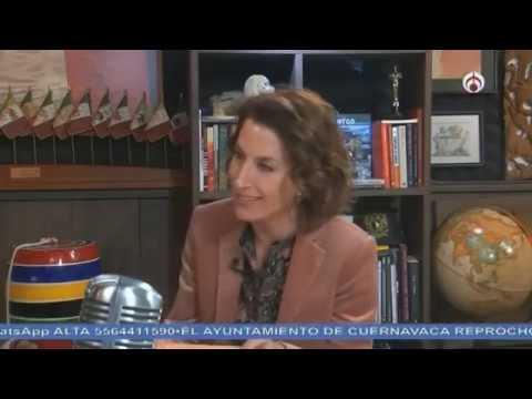 "Paola González presenta el libro ""Origen México"""