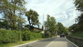 preview picture of video 'Road from Laveno, Castello, Luino, Maccagno to Forcora - ITALY'