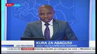Kura za Abagusii: NASA wakita kambi Kisii, Nyamira