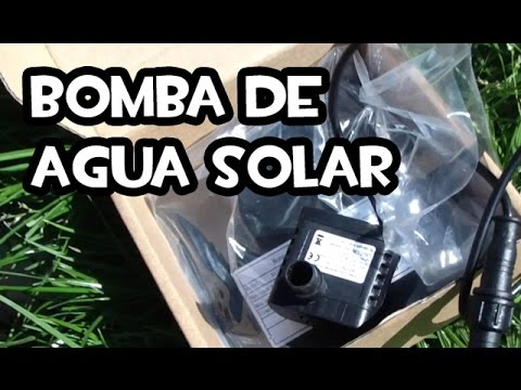 Bomba de Agua Solar | Energia Gratis