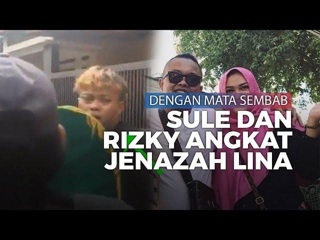 Momen Haru Sule dan Rizky Febian Mengangkat Jenazah Lina dengan Mata Sembab