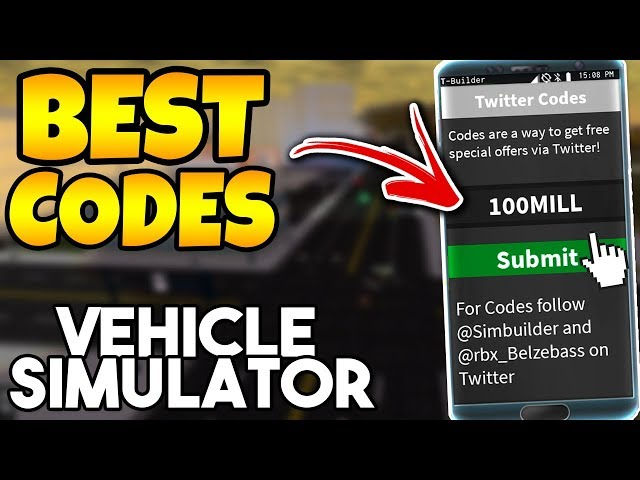 How To Get Free Money In Vehicle Simulator 2018