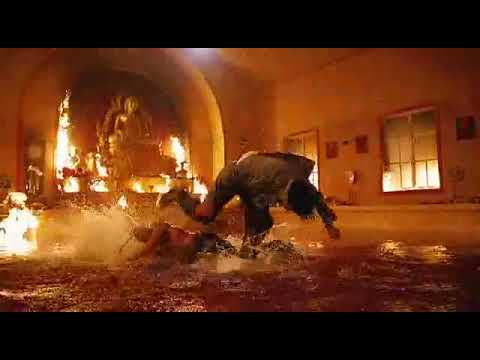 Muaythai vs Capoeira ( Tony Jaa vs Lateef Crowder)