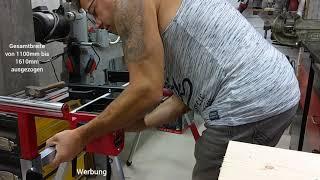 Unboxing und erster Test Einhell Kapp Gehrungssägen Ständer #einhell #einhell harry