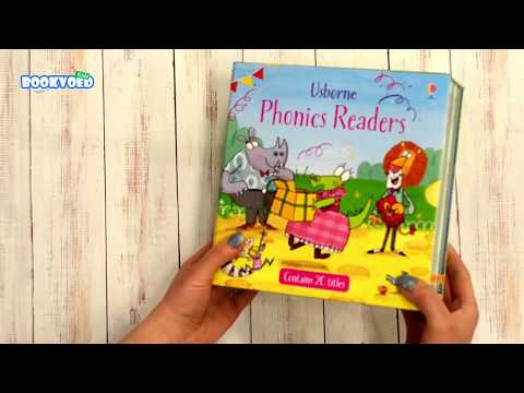 Видео обзор Usborne Phonics Readers 20 Books Collection Box Set Children Reading Books Pack