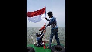 preview picture of video 'Trip Gerombolan Angler Senget 'G.A.S' edisi mengibarkan bendera merah putih di perairan belawan'