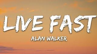 Alan Walker X A$AP Rocky   Live Fast (Lyrics  Lyric Video) PUBGM