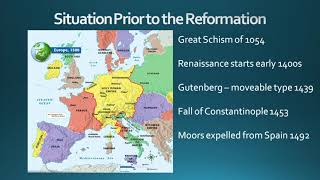 God's Administration Through the Reformation