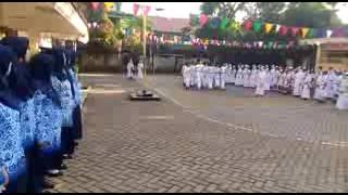 Paskibra Siswa SDN TEGAL PARANG 06 Mampang Prapatan JakSel HUT RI Ke71