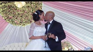 Seifu and Veronica Wedding Ceremony - Watch The Kiss