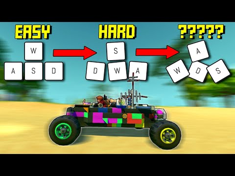 Every 10 Seconds Our Controls Get Randomized! - Scrap Mechanic Multiplayer Monday