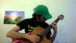 Chant de Saria à la guitare