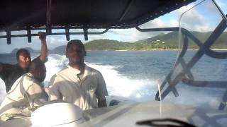 preview picture of video 'Back from Tortola on a BVI Customs boat'