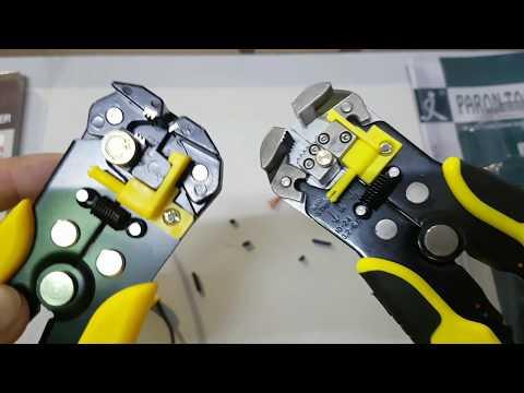 Unboxing y comparativa de peladores de cable automatico