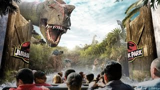 4K | Welcome to Jurassic Park Japan - The Ride at Universal Studios Osaka