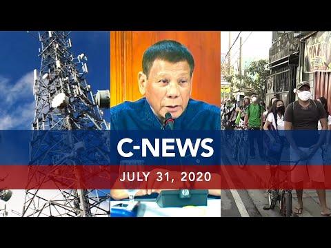 [UNTV]  UNTV: C-NEWS   July 31, 2020