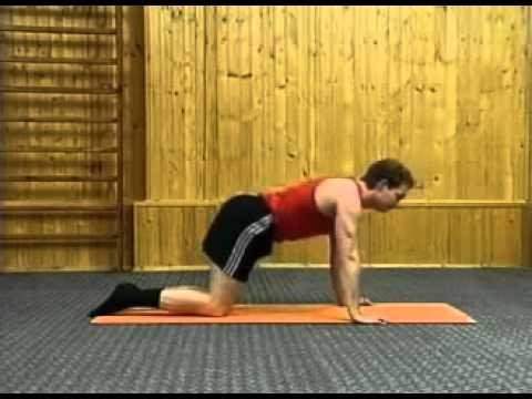 Упражнение для выпрямление осанки с фото