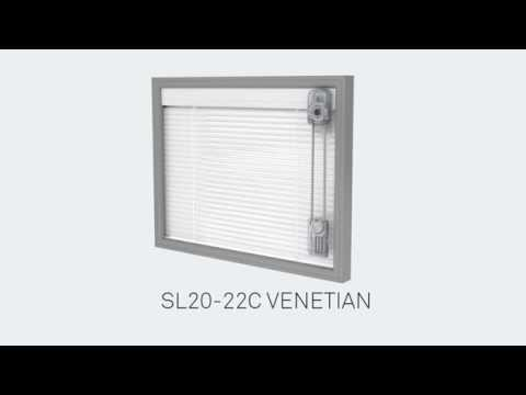 C System ScreenLine Venetian Blinds Video