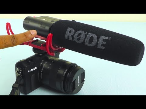 Rode Videomic Review with Rycote Lyre Mount + Sound Test