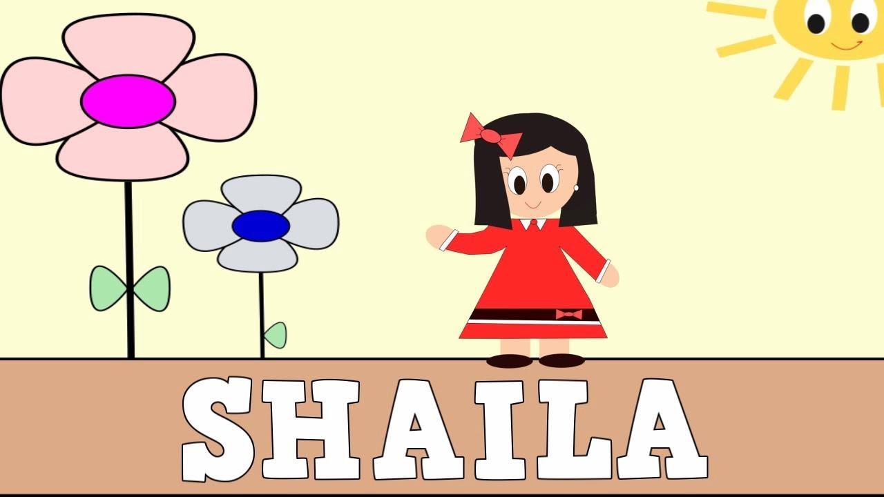 Aprender a Leer y Escribir SHAILA - Vídeos educativos para Niñosy Bebés - Paty y Poty
