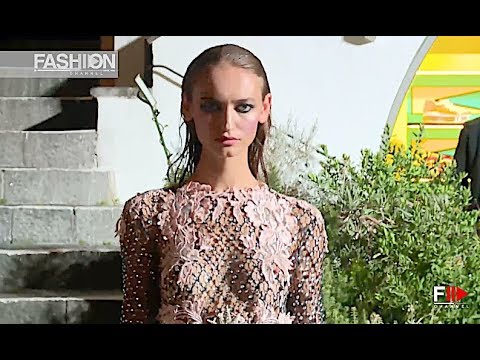 FRANCESCO SCOGNAMIGLIO Fall 2018 Haute Couture Capri - Fashion Channel