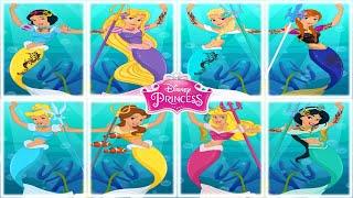 💫 Disney Mermaid Princesses Dress Up Game for Girls