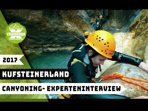 x-challenge goes Kufsteinerland 2017|| Interview: Canyoning