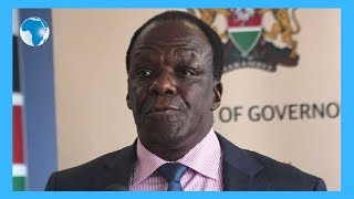 Kakamega mourners heckle Oparanya - VIDEO