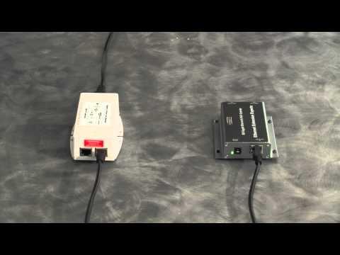 Gigabit PoE Ethernet Extender  World's 1st and Only!