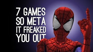 7 Times a Game Was So Meta It Freaked You Out