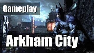 preview picture of video 'Batman Arkham City herní ukázka (gameplay cz) by MajkTV'
