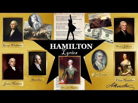 🎵Hamilton: An American Musical - Alexander Hamilton with Lyrics and more😜