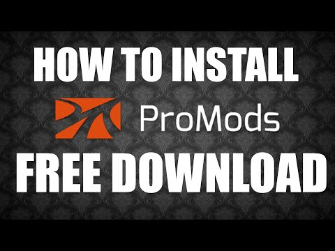 How to install ProMods 2 30 & Rusmap 1 8 1 for Euro truck simulator