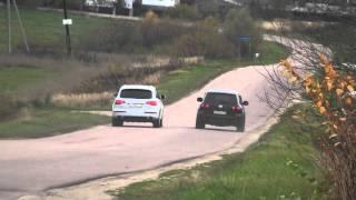 VW Touareg  V10 vs  Audi Q7 V8 4.2TDI