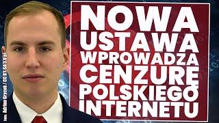 Ustawa o cyberbezpieczeństwie wprowadza cenzurę polskiego internetu!