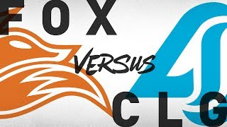 FOX vs. CLG - Week 4 Day 1 | NA LCS Summer Split | Echo Fox vs. Counter Logic Gaming (2018)