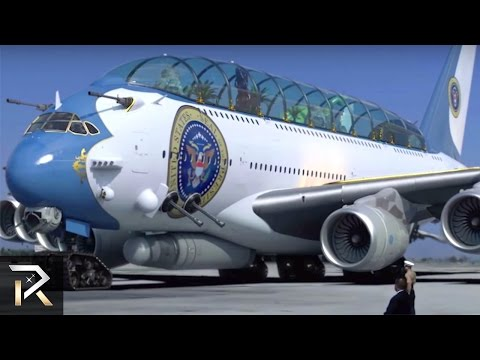 10 Mind-Blowing Facts About President TRUMP's AIRLINE