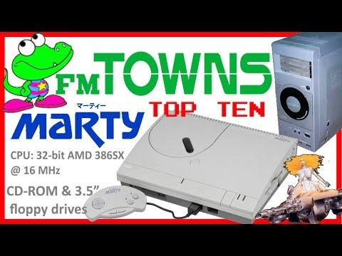 Top Ten Best FM TOWNS / MARTY games