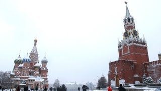 "Red Square in Moscow, Russia (February, 2013). ""Real Russia"" ep.27"