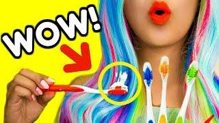 DIY Hair & Makeup Life Hacks! 12 DIY Makeup Tutorial Life Hacks for Girls! Natalies Outlet
