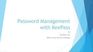 Keep Passwords Secure with KeePass (Tutorial)