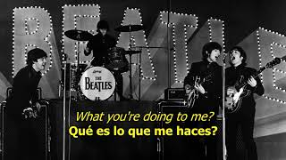 What you're doing - The Beatles (LYRICS/LETRA) [Original]