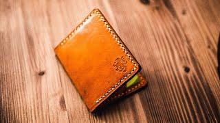 Model Goldener, How To Made Handmade Leather Wallet?