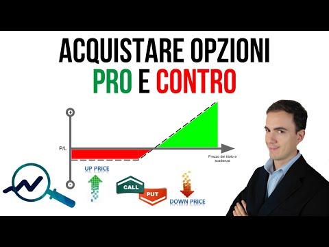 Caratteristiche dellorganizzazione delle opzioni di trading