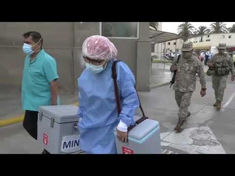 Ministro de Salud dio inicio a segunda etapa de vacunación contra la Covid-19 en el Hospital Loayza