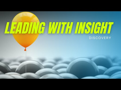 Leading with insight | sales questioning tips and techniques | Aaron ...