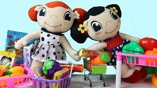 Canım Kardeşim Mine ve Müge Pazar Alışverişndeler - Canım Kardeşim Çizgi Film